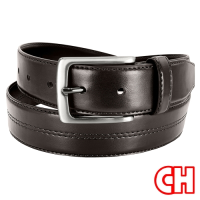 CH-BELT造型中線特色型男休閒皮帶腰帶(咖)