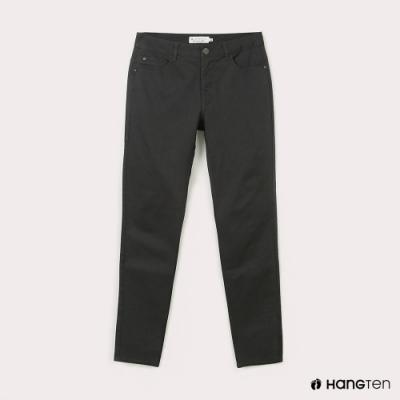 Hang Ten-男裝-經典款-SKINNY FIT緊身長褲-深灰色