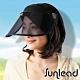 Sunlead 防曬護臉專用。透明長帽簷涼感效果遮陽帽/中空帽 product thumbnail 1
