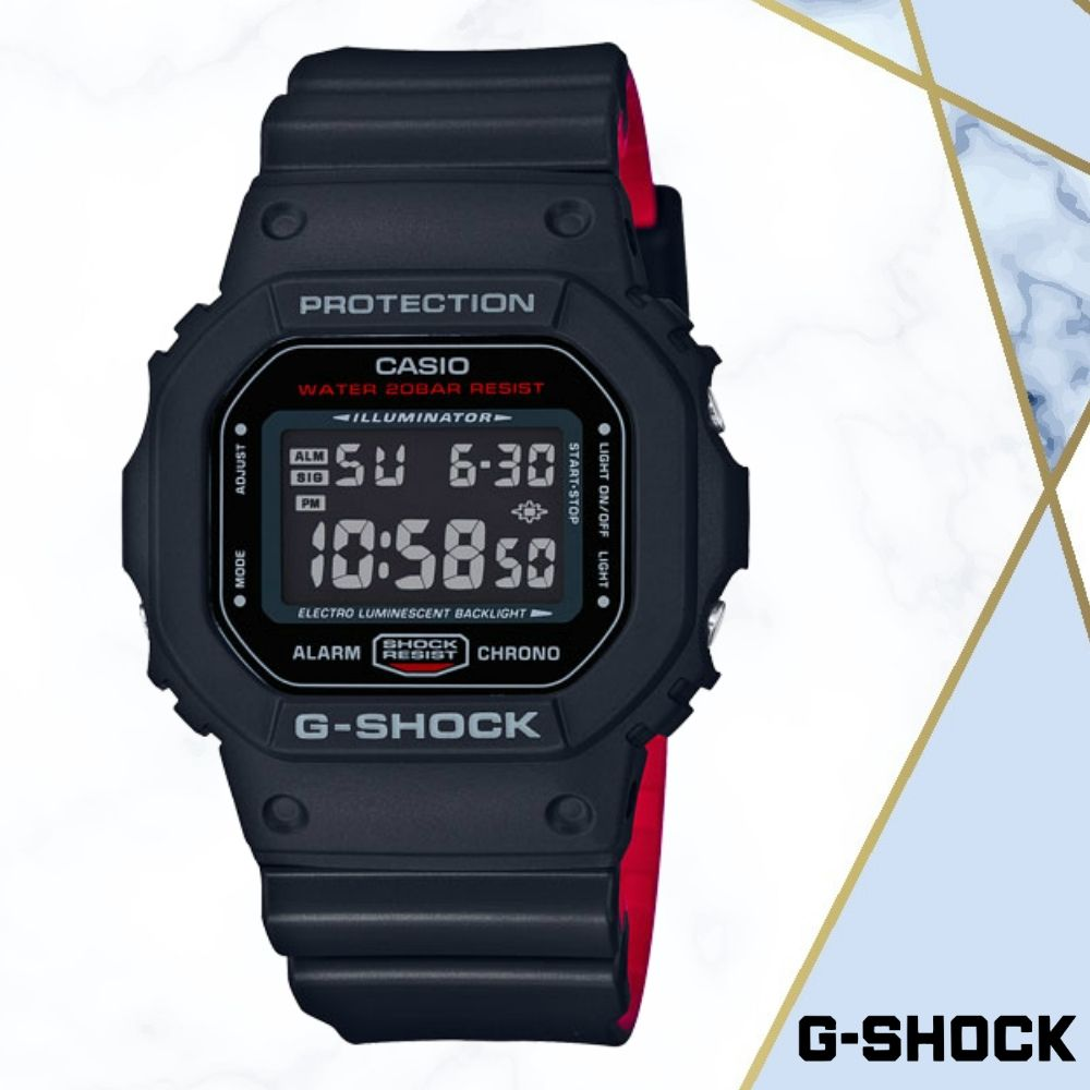 CASIO卡西歐G-SHOCK無限精神(DW-5600HR-1D)黑色