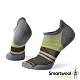 SmartWool PhD跑步輕量菁英減震型印花踝襪 塵灰色 product thumbnail 1