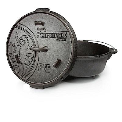 Petromax FT6 Dutch Oven 鑄鐵荷蘭鍋<b>12</b>吋(有腳) FT6