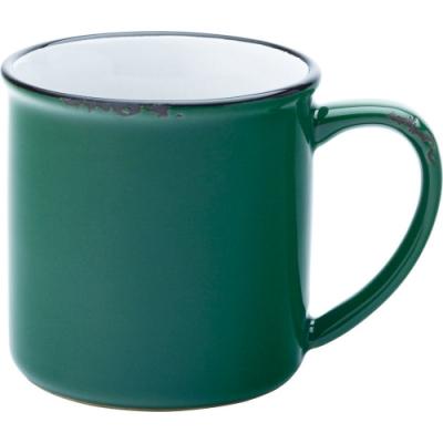 《Utopia》復古石陶馬克杯(綠280ml)