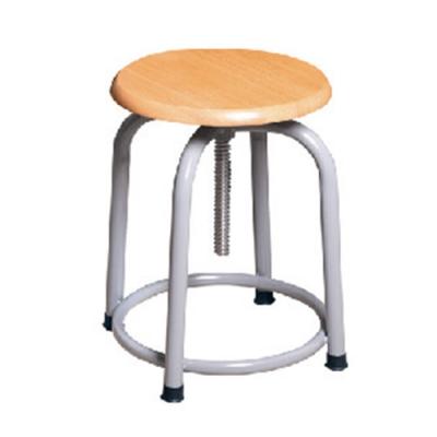 H&D 英式308螺旋升降板面灰腳椅