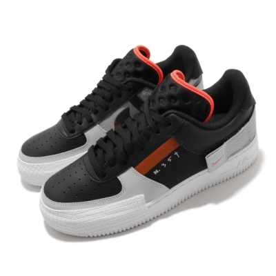 Nike 休閒鞋 AF1 Type 運動 男鞋 海外限定 基本款 簡約 球鞋 穿搭 黑 白 CQ2344001