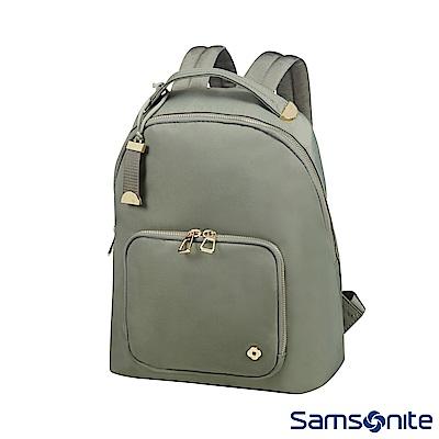 Samsonite新秀麗 SKYLER輕量簡約後背包(橄欖綠)