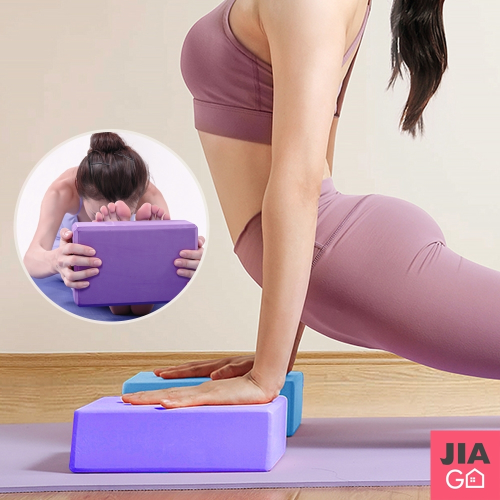 JIAGO 高密度EVA瑜珈磚瘦身磚