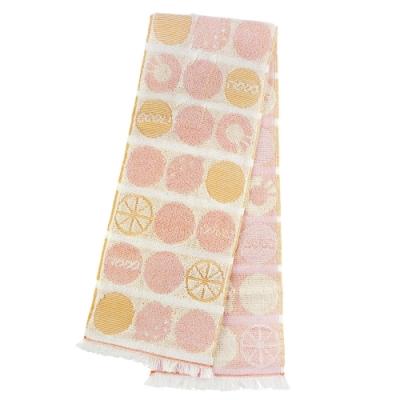 日本丸真 Eco de COOL 涼感運動毛巾 熱帶水果粉