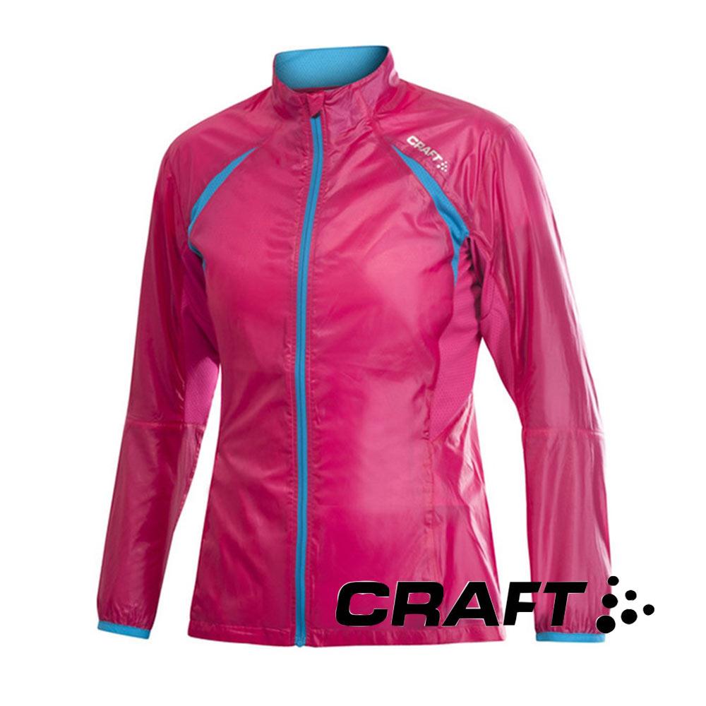 【瑞典CRAFT】女 PR輕量防潑水外套-『桃紅』1900629
