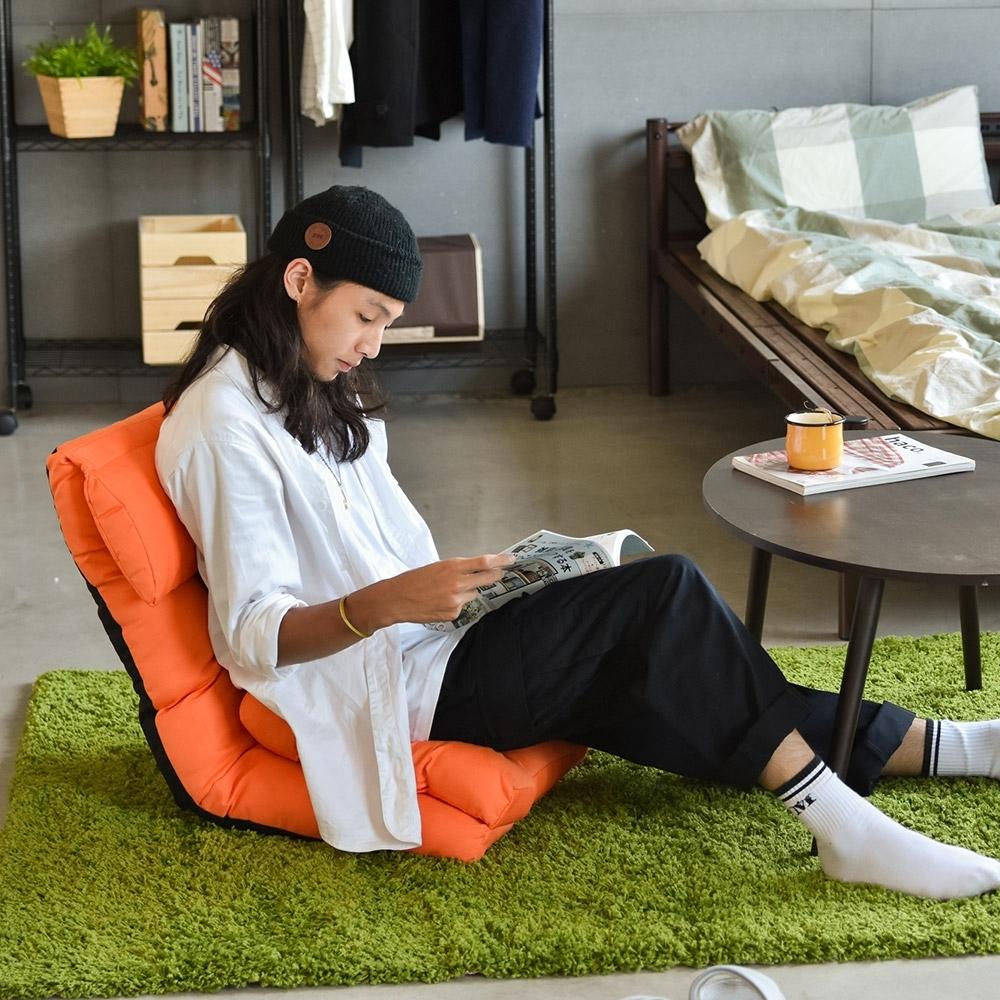 Home Feeling 舒壓款多功能頭靠和室椅/沙發床(3色)-53x82x52cm