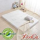 LooCa 法國防蹣防蚊透氣輕釋壓8cm記憶床墊-單人3尺