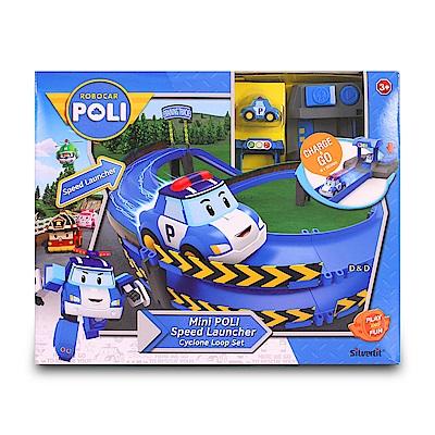 POLI 波力 - 迷你波力特技軌道系列(龍捲風彎圈組)