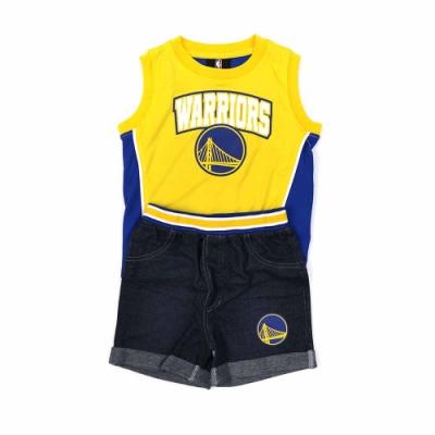 NBA 幼兒無袖套裝 勇士隊