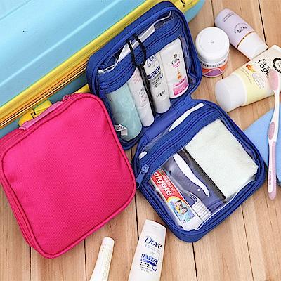 木暉旅行外出小物收納包盥洗包-2入