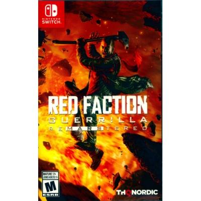 赤色戰線:游擊戰隊 重製版 Red Faction - NS Switch 中英日文美版