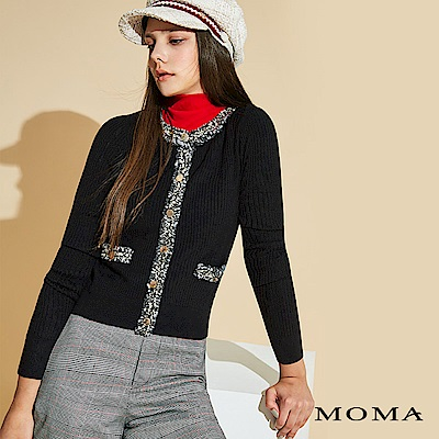 MOMA 華麗滾邊針織外套_2色