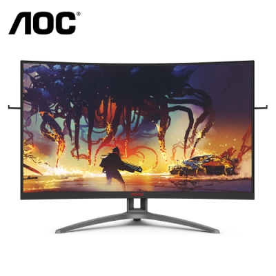 AOC 32型 AG323FCXE 曲面電競螢幕 HDR  FreeSync 165Hz 1ms