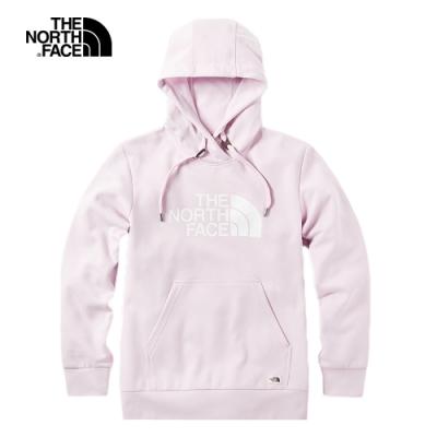 The North Face北面男女款粉色柔軟舒適針織上衣 3VTHBEJ