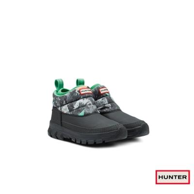 HUNTER - 女鞋 - Original低筒雪靴 - 綠