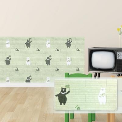 【Doricare朵樂比】QQ防護壁貼-快樂小熊12入