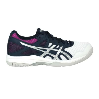 ASICS GEL-TASK 2 女排羽球鞋-排球 羽球 羽毛球 亞瑟士 1072A038-403 墨藍銀紫白