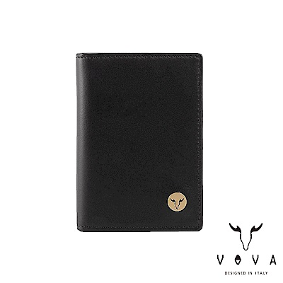 VOVA 費城系列3卡名片夾-摩登黑