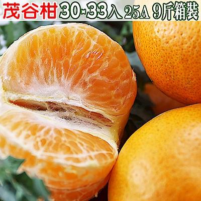 愛蜜果 茂谷柑30-33入箱裝25A(約9斤/箱)