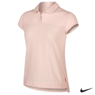 Nike Golf Flex 女高爾夫翻領T恤 粉 AV3671-682