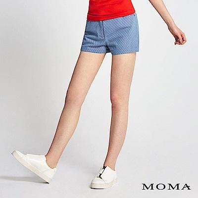 MOMA 斜條紋率性短褲