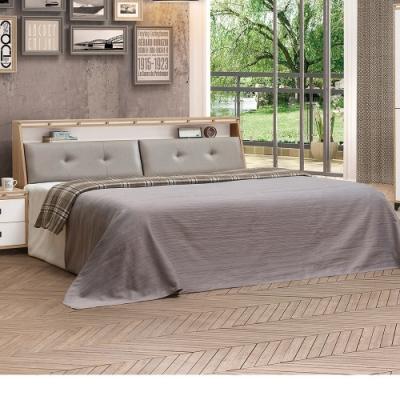 Bernice-喬科6尺雙人加大床組(床頭箱+床底)(不含床墊)