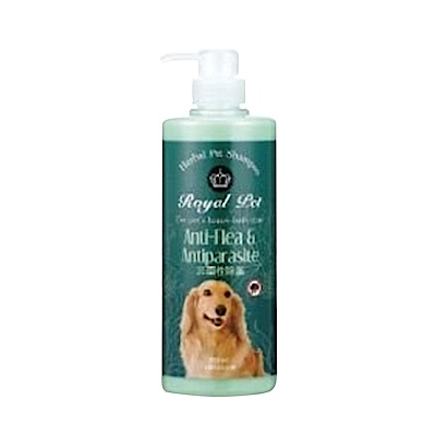 Royal Pet 皇家寵物《非藥性蚤》洗毛精-500mlX2罐組