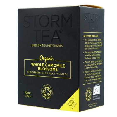 英國Storm 有機洋甘菊茶-立體茶包(15入)