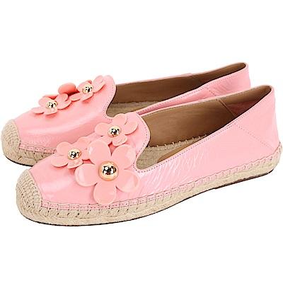 MARC JACOBS Daisy 立體小雛菊草編鞋(粉色)