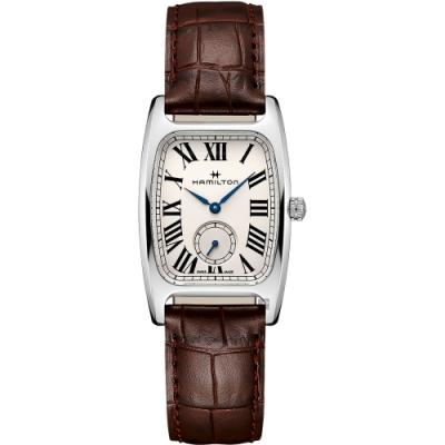 Hamilton 漢米爾頓 美國經典 柏登系列石英錶(H13421511)-咖啡