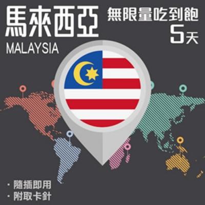 【PEKO】馬來西亞上網卡 5日高速4G上網 無限量吃到飽 優良品質
