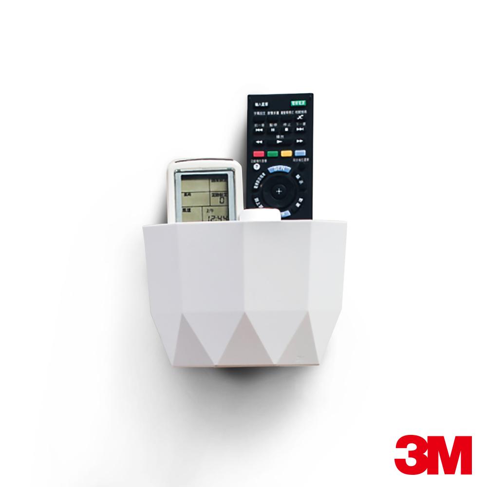 3M 無痕Lifestyle系列-中型置物盒(白)