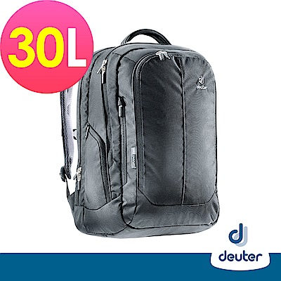 【deuter德國】GRANT PRO 30L電腦背包/休閒商務包80614黑