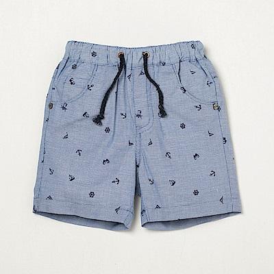 PIPPY 海洋風格短褲 藍