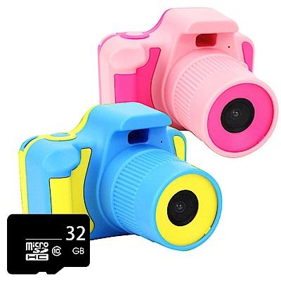 (贈32GB記憶卡) YT-03 1080P攝錄影馬卡龍兒童相機