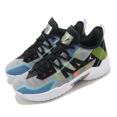 Nike 籃球鞋 Jordan One Take II 男鞋 喬丹 避震 包覆 明星款 運動 球鞋 灰 黑 CW2458003