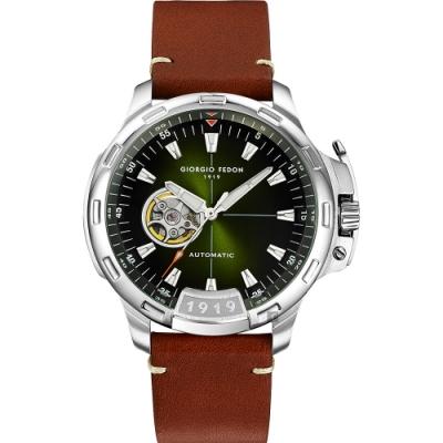 GIORGIO FEDON 1919 TIMELESS IX 鏤空機械錶(GFCK003)
