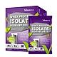米森Vilson無加糖分離乳清蛋白飲-芝麻紫米(35gx6包/盒) product thumbnail 1