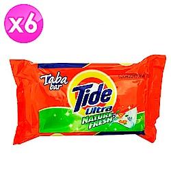 美國Tide 洗衣皂-綠色清香(130g)-6入組