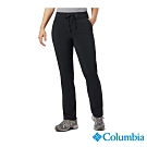 Columbia 哥倫比亞 女款-防曬50防潑長褲-黑色 UAK12840BK