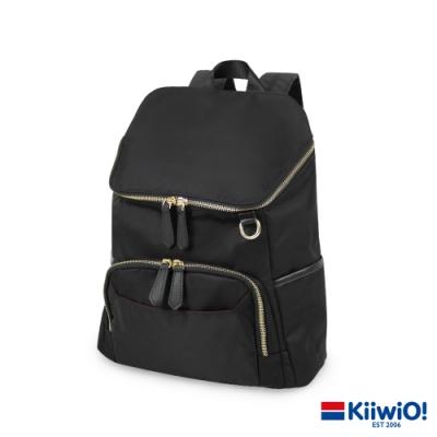 Kiiwi O! 實用尼龍系列 筆電/後背包 MATTIE 黑