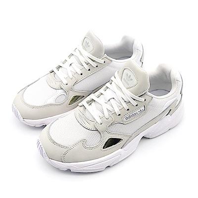 ADIDAS FALCON 女 慢跑鞋 白-B28128