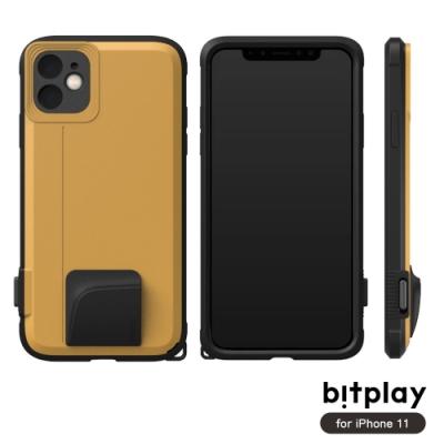 bitplay SNAP! iPhone 11 (6.1吋)專用 喀擦一鍵即拍相機快門鍵全包覆軍規防摔相機殼-黃