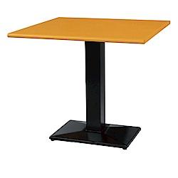 綠活居 阿爾斯環保2.5尺塑鋼立式餐桌/休閒桌(二色可選)-75x75x74cm免組