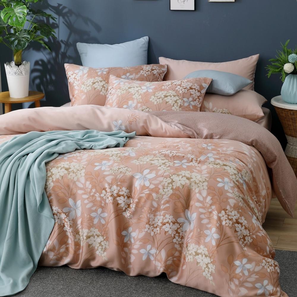鴻宇 雙人特大床包薄被套組 天絲 萊塞爾 傑拉丁 台灣製