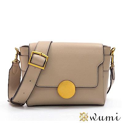 WuMi 無米 瑪格莉特法式圓釦包 乾燥粉